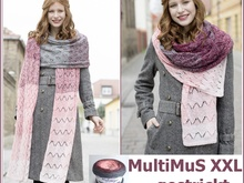 MultiMuS XXL gestrickt mit 2 BOBBEL Woolly Hugs COTTON
