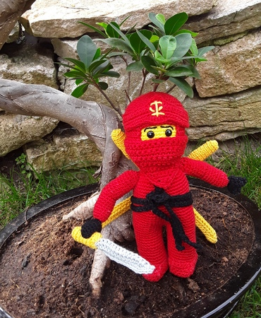 Ninja Häkelanleitung