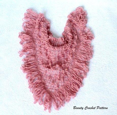 Crochet Ruffle Shawl Pattern
