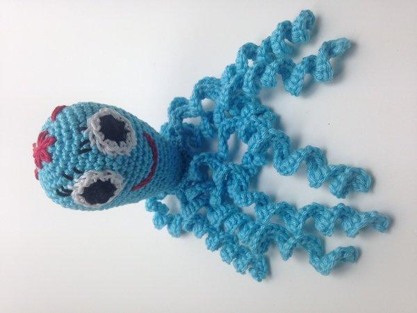 Gratis Oktopus Häkeln Amigurumi Tierchen