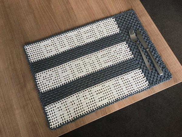Platzdeckchen / Tischset häkeln / Hausdeko
