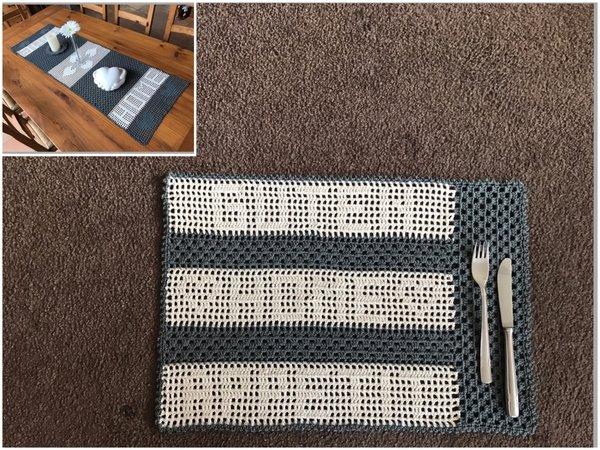 Platzdeckchen Tischset Häkeln Hausdeko