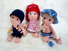 Crochet Pattern Mimi and her gang