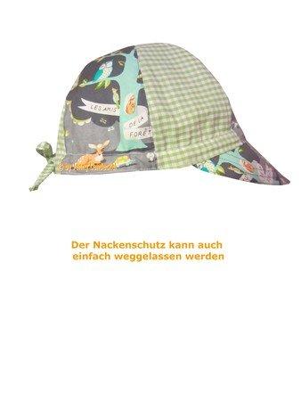Sommerhut/Sonnenhut mit Nackenschutz für Kinder und Babys ...