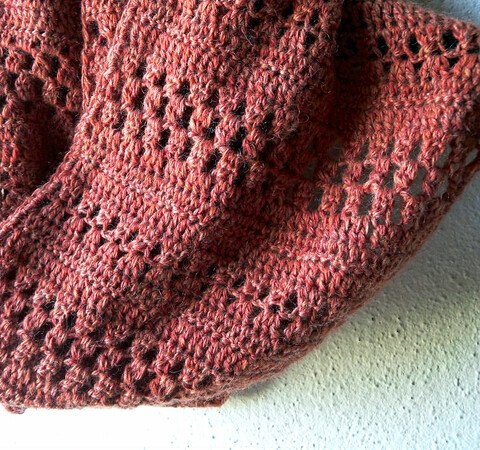 "Crochet Cowl Pattern ""Harvest without Birds"""