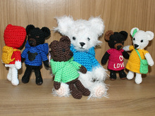 Crochet Pattern: Cheeky Teddy Gang