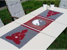 Crochet Pattern for Table Runner | *Buddha's Tea Party*