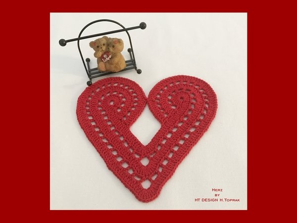 Crochet pattern Heart