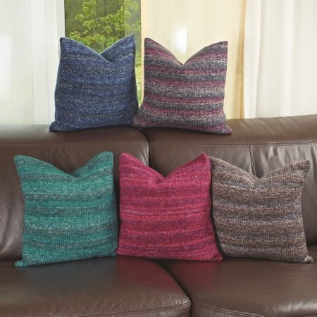 strickanleitung kissenbezug farbvariante rot arbeitsstrumpf color 756168. Black Bedroom Furniture Sets. Home Design Ideas