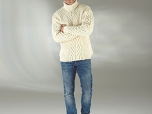 "Strickanleitung Herrenpullover ""Sporty"" 756017"