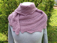 "Knitting pattern Shawl ""Zick and Zack"""