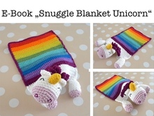 "E-Book ""Snuggle Blanket Unicorn"""