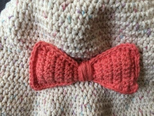 "Crochet Bow Tie Pattern PDF, Size: 6""//15.2cm x 2 ¾ ""//7cm Free Pattern to my friends at Crazypatterns"