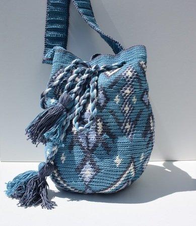 Tasche Häkeln Tapestry Mochila Bag