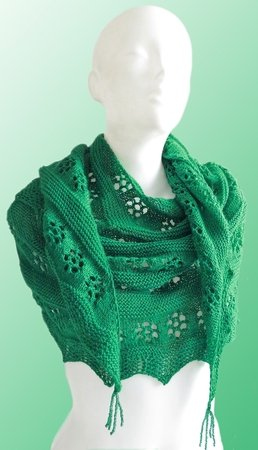 Knitting pattern set, bundle of three wonderful shawl patterns!