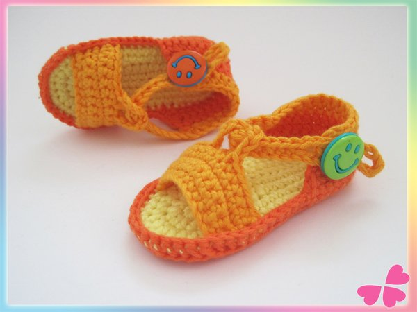 Frühchen Baby Sandalen Häkeln 5 Größen
