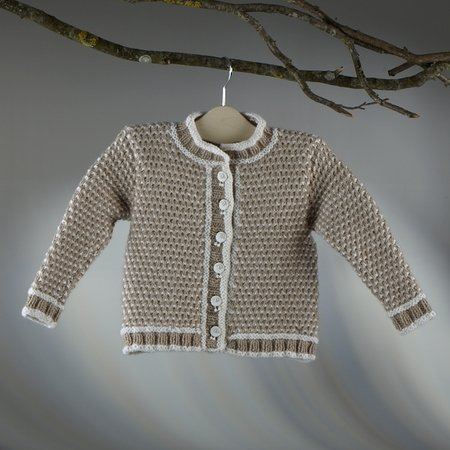 "Strickanleitung Kinderjacke ""Sporty"" 756033"