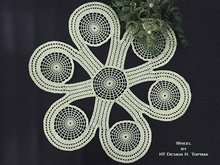 Crochet pattern Wheel