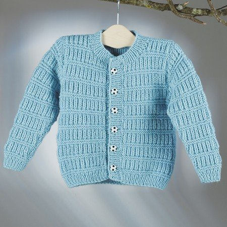 "Strickanleitung Kinderjacke ""Sporty"" 756034"