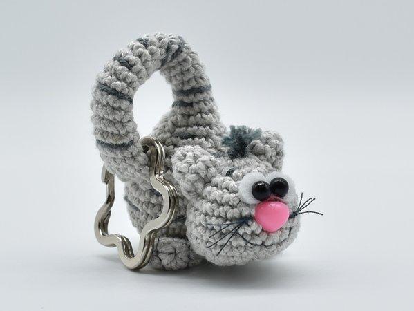Katze Häkeln Schlüsselanhänger Deko