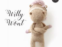 The Nonos • Willy Wont • Amigurumi Pferd Puppe • Häkelanleitung