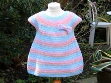 Crochet Instructions for a Bubble Dress - any size, each yarn