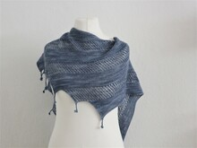 "Shawl knitting pattern ""Zibba"""