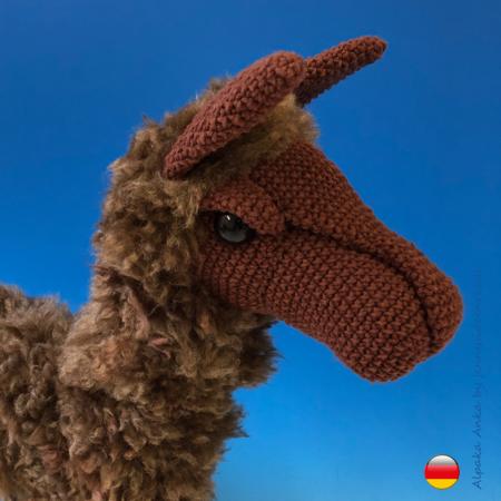 Lama mit Orientierungsschwierigkeiten – Das furzende Einhorn | 450x450