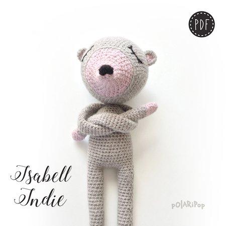 Die NONOs Häkelbande • Isabell Indie • Amigurumi Maus Puppe ...