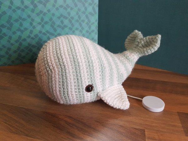 Wal häkeln // Spieluhr häkeln / Babyspielzeug