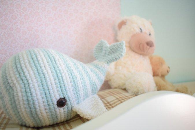 Wal Häkeln Spieluhr Häkeln Babyspielzeug