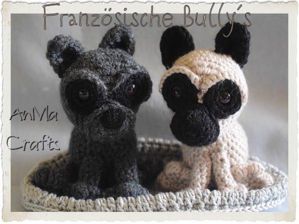 Häkelanleitung Französische Bulldogge