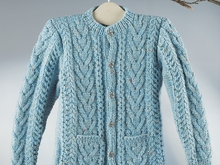 "Strickanleitung Kindertrachtenjacke ""Tweed"" 756142"