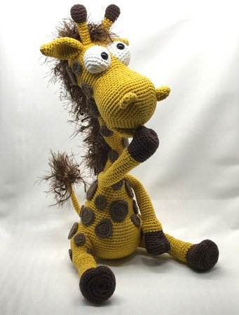 This little crocheted donkey looks so charming. The Amigurumi ... | 450x341