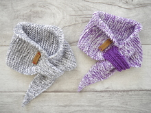 Knitting Pattern - Baby Scarf basic - No.168E-3