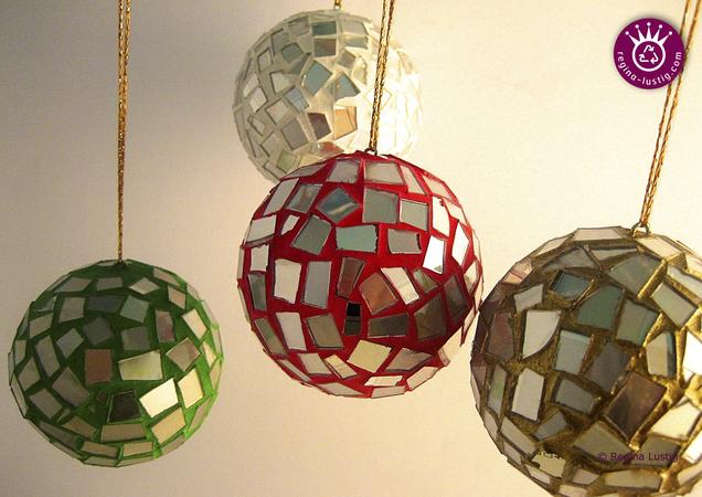 Lustige Weihnachtskugeln.Weihnachtskugeln Dekokugeln Christbaumkugeln Upcycling Aus Cds Und Dvds