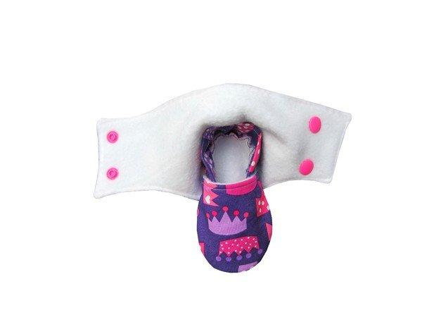 Baby-Booties/Babyschuhe - Schnittmuster & Nähanleitung