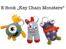 "E-Book ""Key Chain Monsters"""
