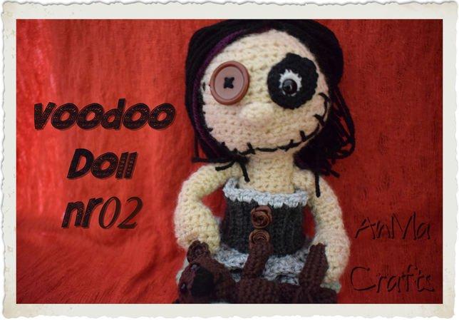 Voodoo Puppe Häkeln Deko Amigurumi