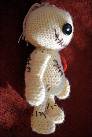 Voodoo-Puppe häkeln // Deko + Amigurumi