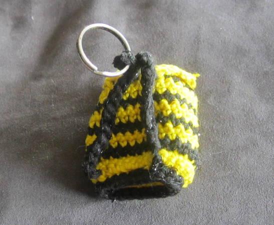 Häkelanleitung Für Einen Mini Rucksack Als Schlüsselanhänger