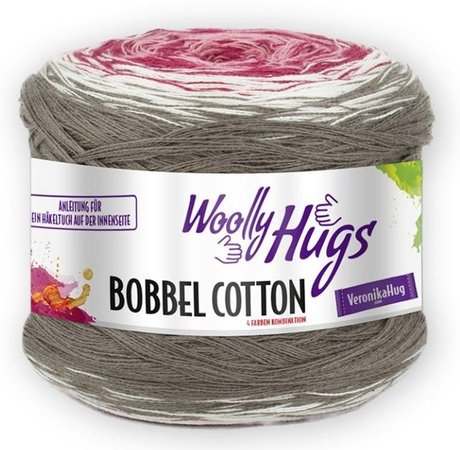 Tuch Schatten Mit 1 Bobbel Woolly Hugs Cotton Häkeln