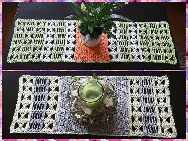 Tischläufer Häkeln Tischdeko Mitteldecke