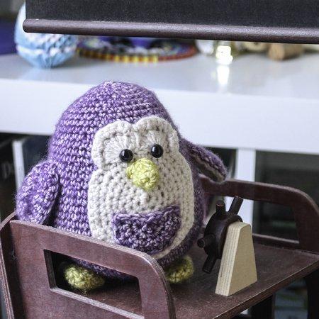 Amigurumi Häkelanleitung - Pelle der Pinguin
