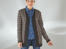 "Strickanleitung Damenjacke ""Sporty"" 755102"