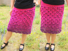 Skirt TIFFANY crochet pattern