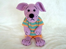 Crochet Pattern Dog Kurt