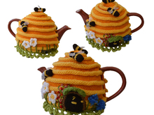 Bee Hive House Tea Cosy