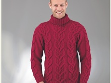 "Strickanleitung Herrenpullover ""Sporty"" 754035"