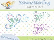 Plottervorlage Schmetterling